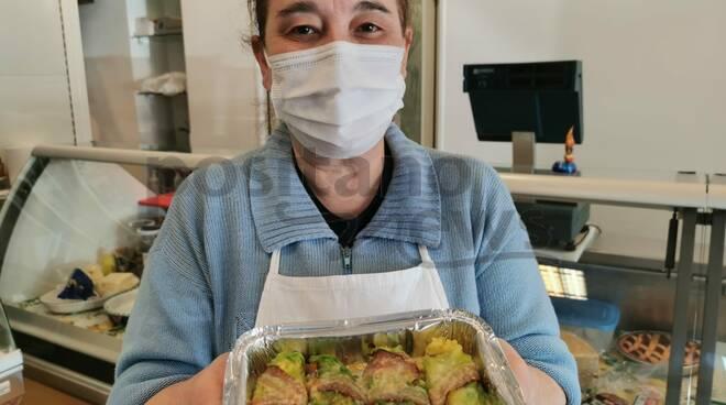 Positano: il riso con verza dell'Angolo gastronomico di Anna D'Urso