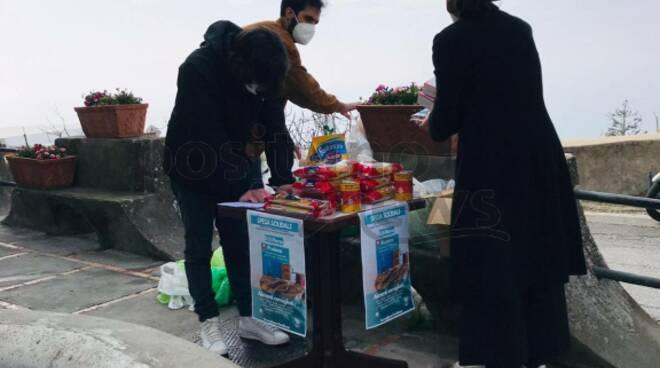 Positano-Praiano: raccolta solidale per la comunità di Sant'Egidio di Napoli