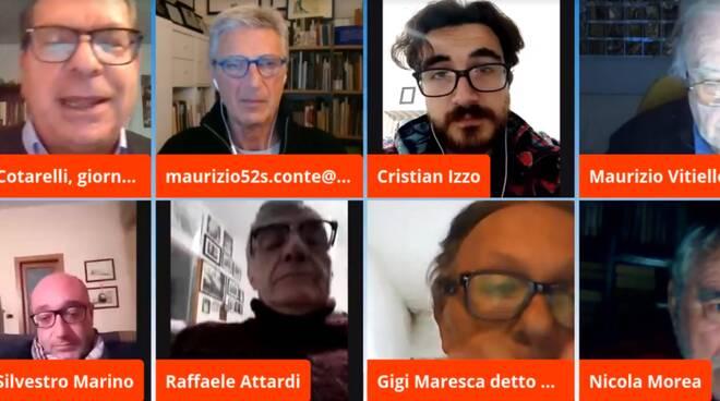 """POSITANONEWS TV – TALK SHOW – """"MADICOSAPARLIAMO"""" – """"Calcio, Politica, Covid con riapertura cinema, teatri, musei in zona gialla"""""""