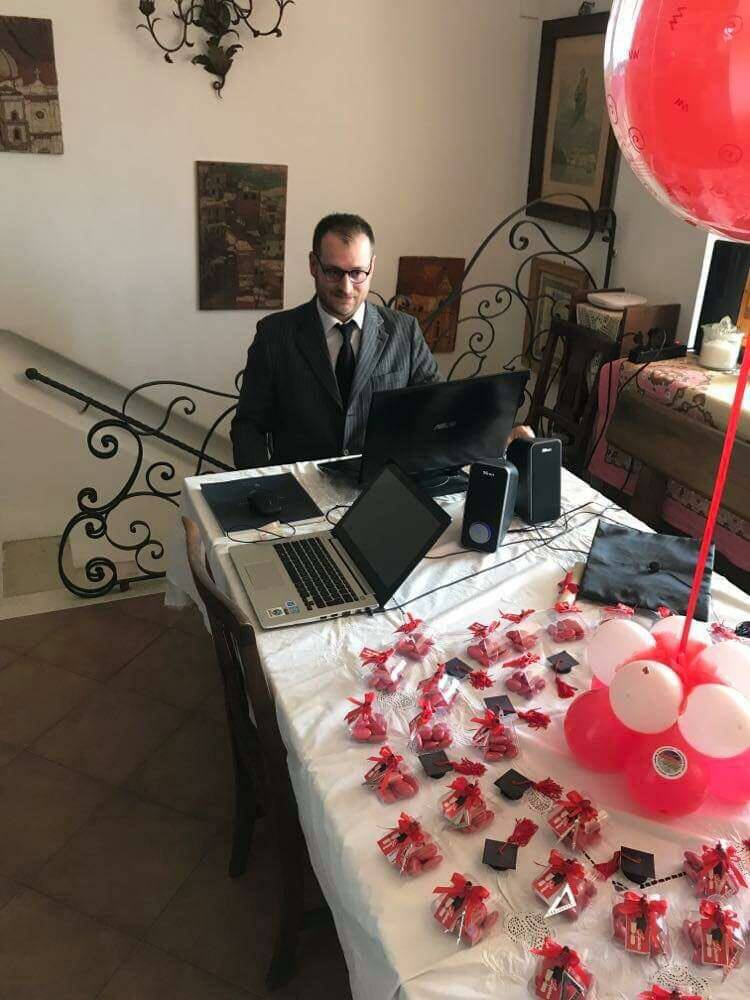 Salvatore Gargiulo, nuovo dottore a Positano!