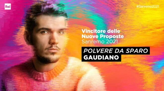 Sanremo giovani 2021 Gaudiano