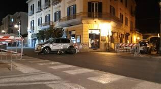 Sant'Agnello, grave incidente stradale sul Corso Italia