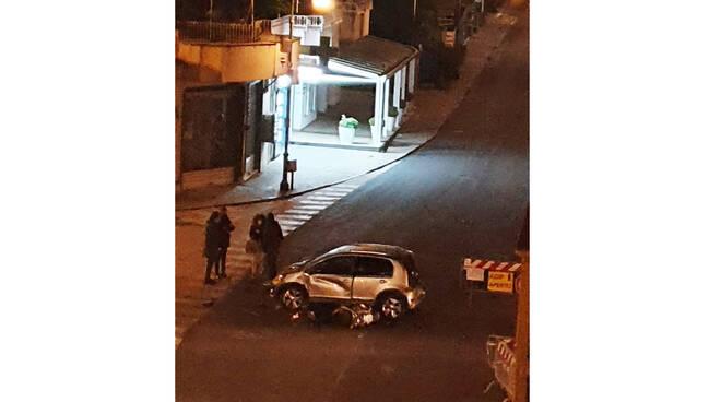 Sant'Agnello, in serata incidente stradale sul Corso Italia