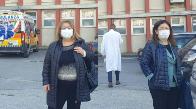 """Scafati, posti letto riotti al Covid Hospital, Villani e Nappi: """"Necessaria una riorganizzazione degli spazi"""""""