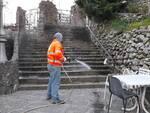 Scala sanificazione della Millenium di Amalfi