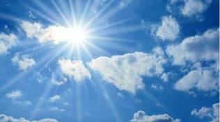 sole e nuvole