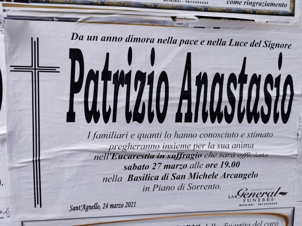 Stasera, nella Basilica di San Michele, Piano di Sorrento ricorda la prima vittima di Covid