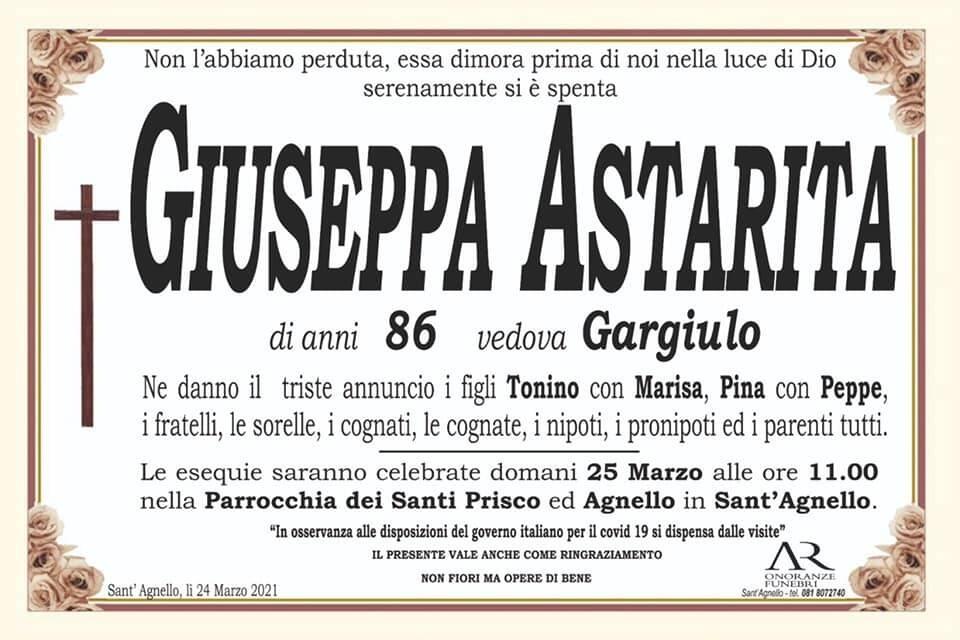 """Triste notizia da Sant'Agnello: ci lascia la signora Giuseppa, del """"Bar Pina"""""""