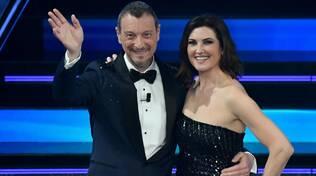 Vico Equense rappresentata a Sanremo da Giovanna Civitillo, moglie di Amadeus