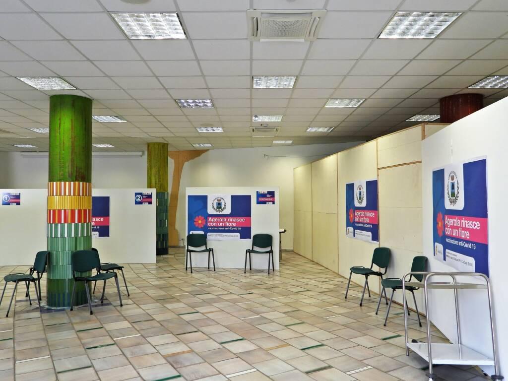 Agerola, inaugurato il centro vaccinale. Ecco gli orari di apertura