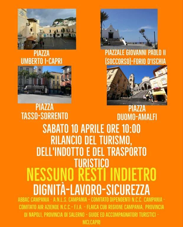 """Amalfi, il 10 aprile la manifestazione dei lavoratori: """"Stanchi di essere ignorati! Vogliamo lavorare con dignità, diritti e sicurezza!"""""""
