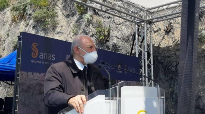 Amalfi, ripristinata la circolazione lungo la strada statale 163: il comunicato dell'Anas