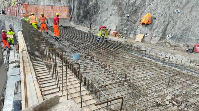 Amalfi ultimo getto di calcestruzzo sulla SS 163