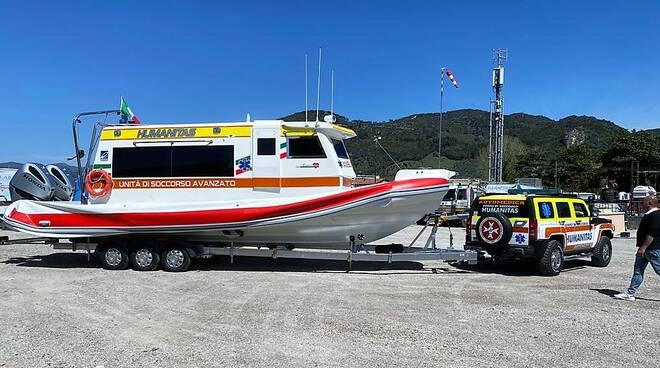 Approda a Salerno l'ambulanza del mare di rianimazione - Positanonews