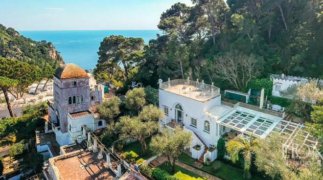 Capri Villa di De Sica