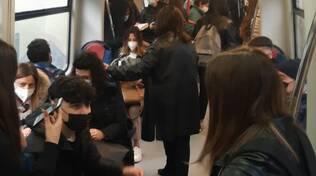 Protesta studenti istituti superiori di Sorrento