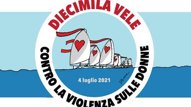 Diecimila vele contro la violenza sulle donne