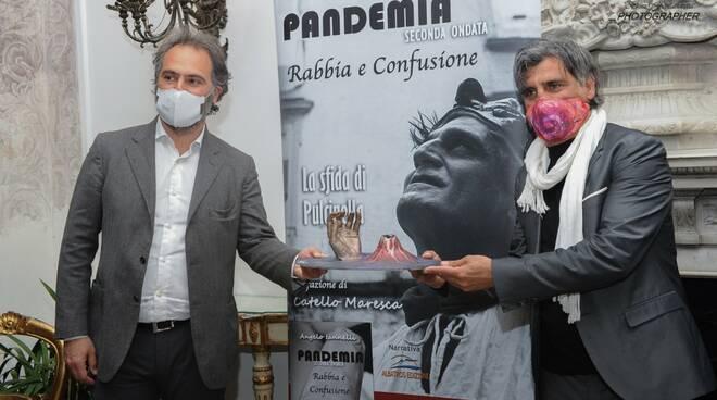 Successo per Angelo Iannelli presentato  il suo  secondo libro sulla Pandemia a Villa Domi. Presenti illustre personalità