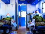 Si è conclusa la campagna di donazione sangue ed emoderivati da parte dell'Esercito Italiano