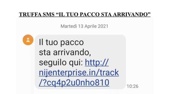 """Commissariato di PS Online, attenzione alla truffa via SMS: """"Il tuo pacco sta arrivando"""""""