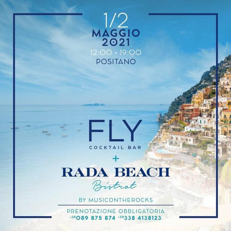 """Consapevolezza, sostenibilità, gratitudine: Positano riparte da qui! Riaprono il """"Rada Beach Bistrot"""" e il """"Fly Cocktail Bar"""""""