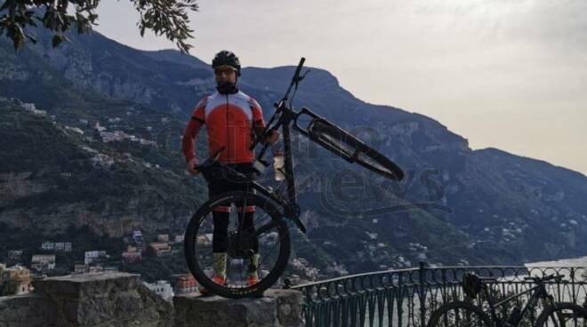 Da Agerola a Positano il giro in bici della speranza