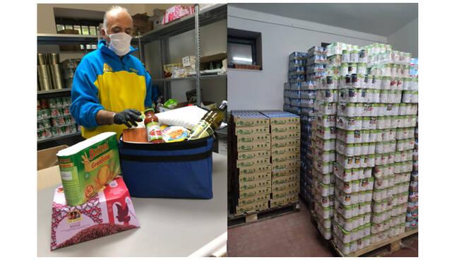 Emergenza Covid-19, ad Agerola prosegue la consegna dei pacchi alimentari