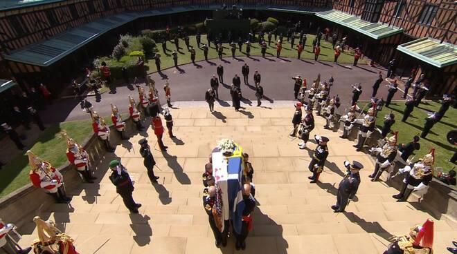 funerale principe filippo