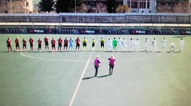 Foto tratta dal video del Lavello della partita