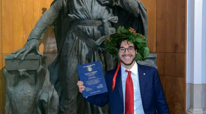 Giuseppe Capozzi Positano Laurea