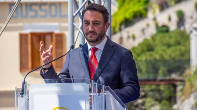 """Il viceministro Giancarlo Cancelleri: """"Nessuna rabbia sociale oggi ad Amalfi"""""""