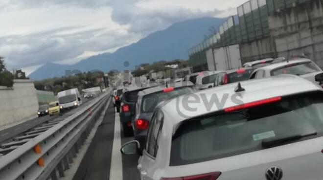 incidente autostrada a3
