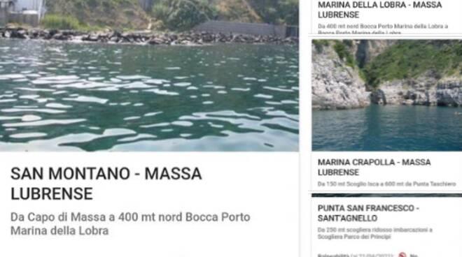 Inquinamento dati Massa Lubrense e Sant'Agnello