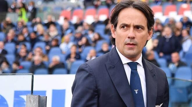 L'allenatore della Lazio Simone Inzaghi positivo al Covid-19
