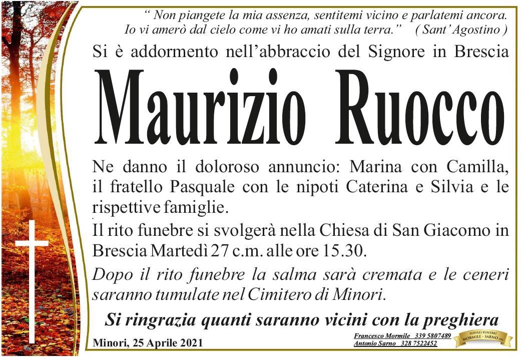 Lutto tra Ravello e Minori: da Brescia a causa del Covid ci ha lasciati Maurizio Ruocco