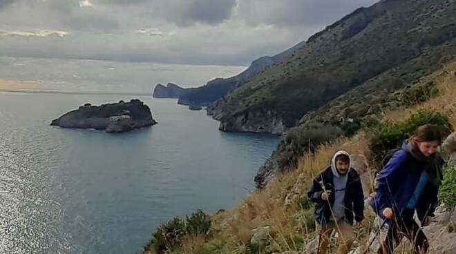 """Massa Lubrense, con l'Amp Punta Campanella il primo weekend """"giallo"""" da vivere in natura"""