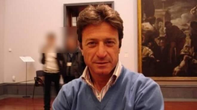 Maurizio Cerrato in un sala del Museo di Capodimonte