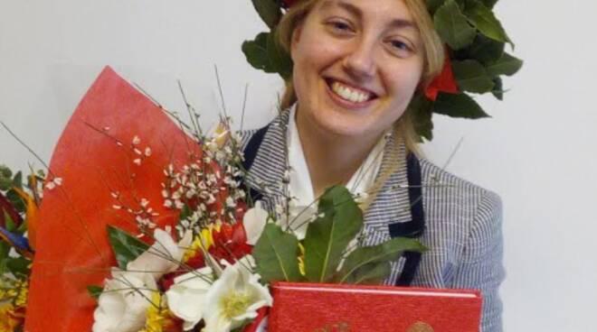 Minori, infiniti auguri ad Anna Sammarco per la sua laurea Magistrale in Chimica