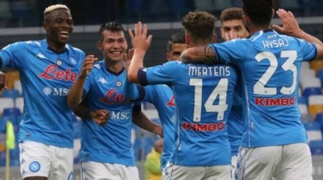 Napoli comincia a decollare tra una vittoria e l'altra