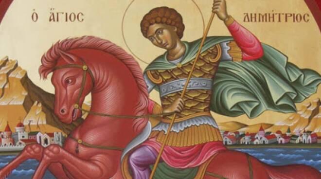 Oggi la Chiesa commemora San Demetrio di Tessalonica