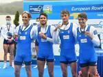 Oro, argento e bronzo per gli atleti della Marina ai Campionati Europei di canottaggio credit Mimmo Perna