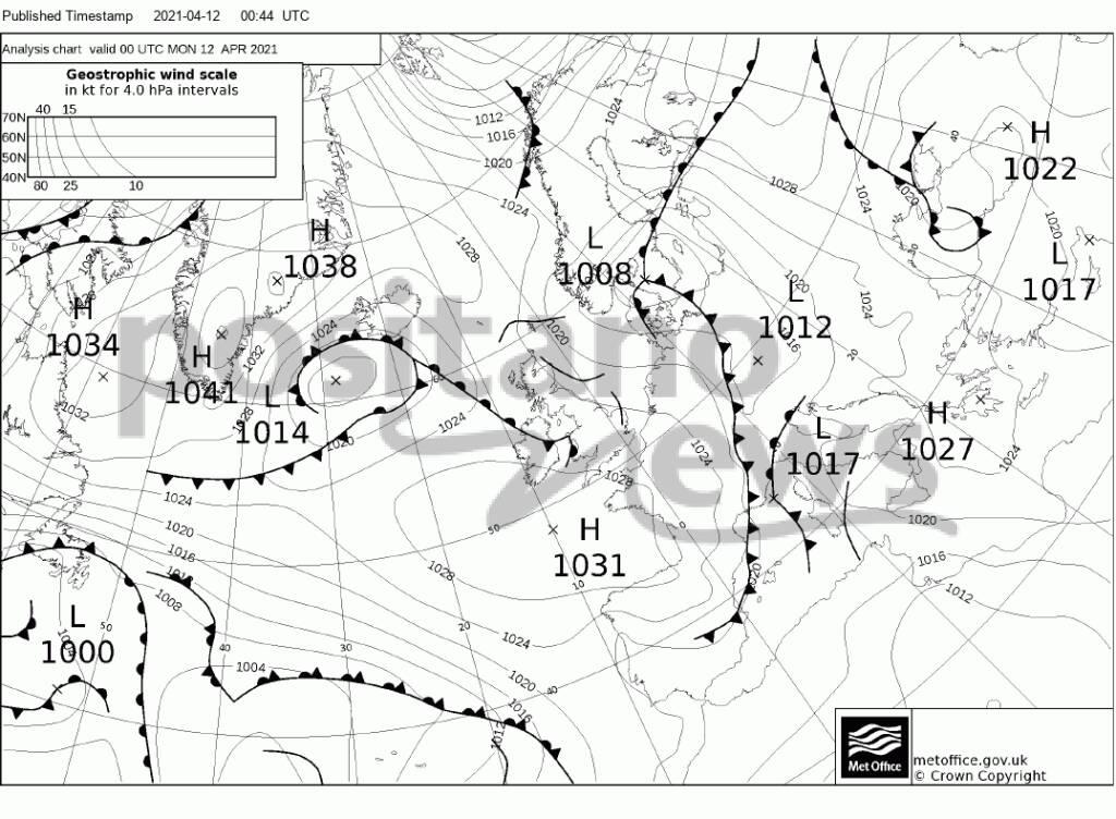 """Piano di Sorrento il meteo del Nautico """"N.Bixio"""" per Positanonews: temperature stazionarie"""