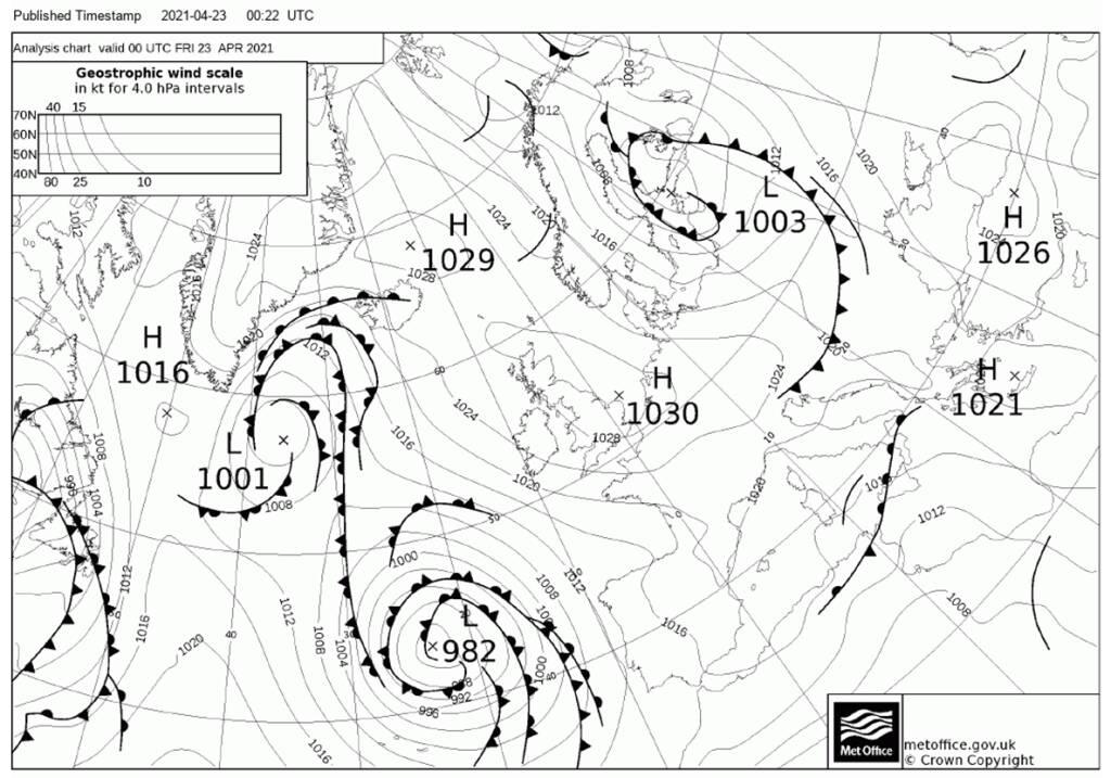 """Piano di Sorrento il meteo del Nautico """"N.Bixio"""" per Positanonews: tempo instabile tendente al migliornamento"""