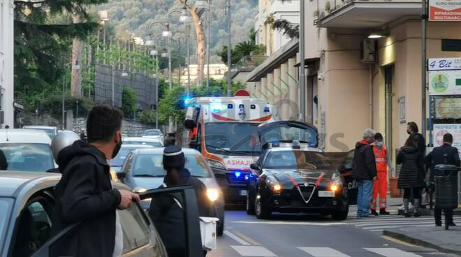 Piano di Sorrento incidente sul Corso Italia