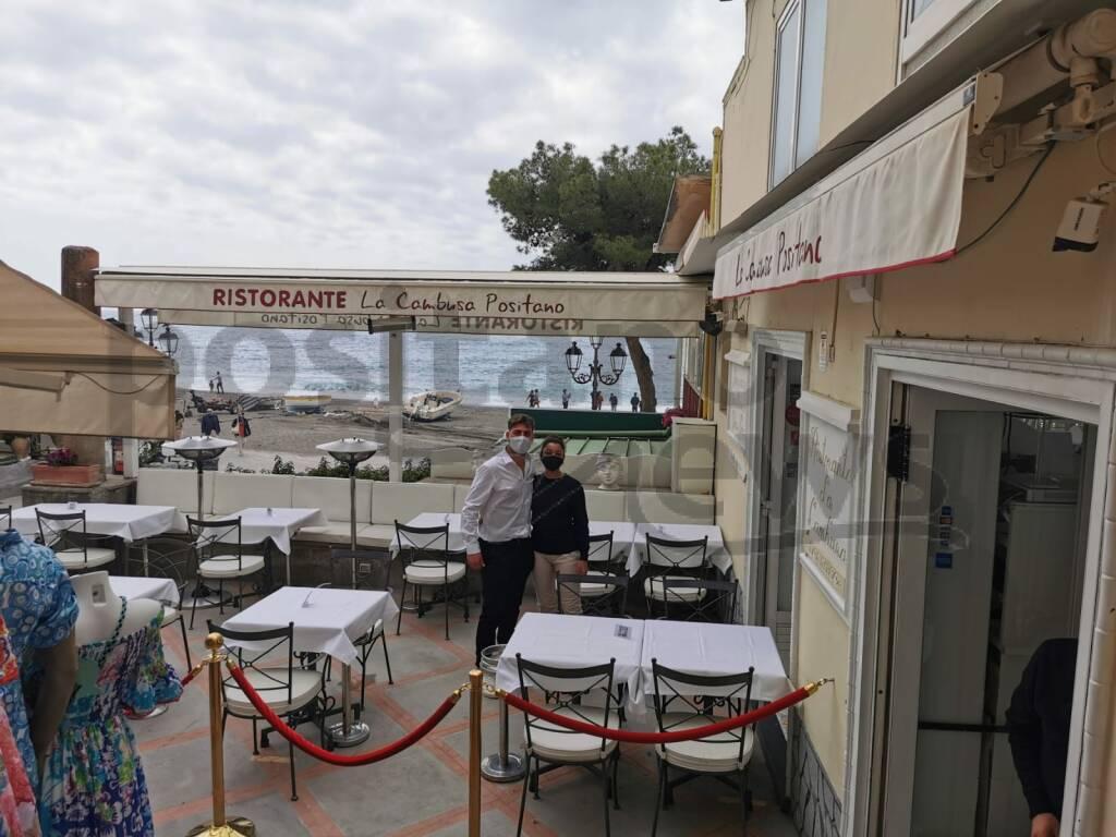 Positano si prepara alla ripartenza: quasi tutti i ristoranti aperti, regna l'ottimismo