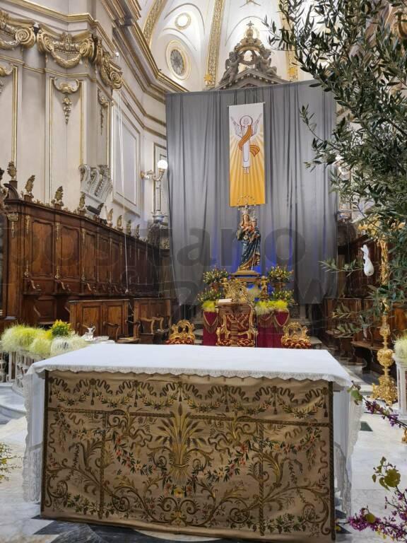 Positano, Veglia pasquale nella Chiesa di Santa Maria Assunta