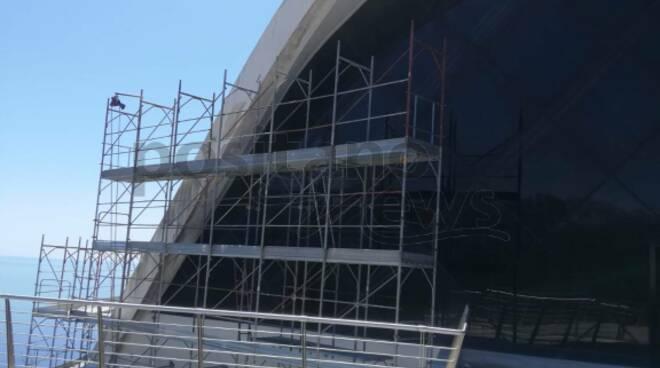 Ravello. Partiti i lavori all'Auditorium Oscar Niemeyer , reportage di Valeria Civale