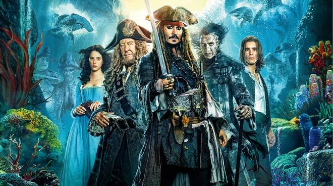 Stasera in TV il quinto capitolo della saga Pirati dei Caraibi: La vendetta di Salazar