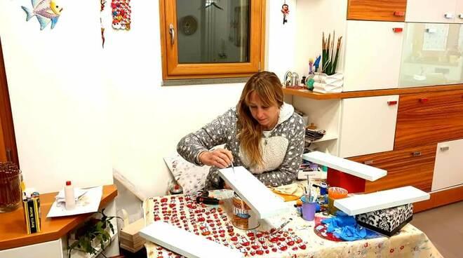 Tutte assegnate le opere di Sabrina Fissore. Il ricavato alla Millenium Costa d'Amalfi