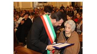 Vico Equense, a 101 ci lascia nonna Olimpia. Il cordoglio del sindaco Andrea Buonocore